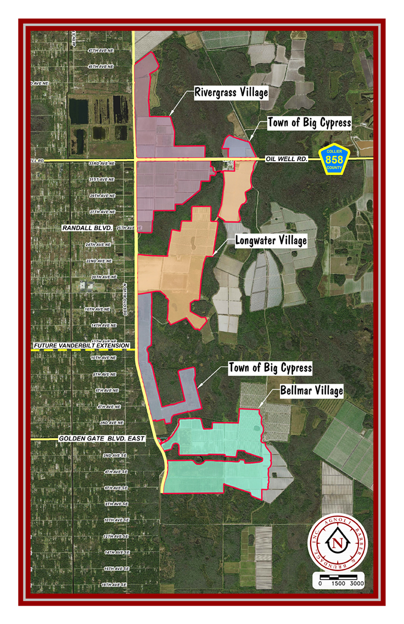 Town of Big Cypress Map